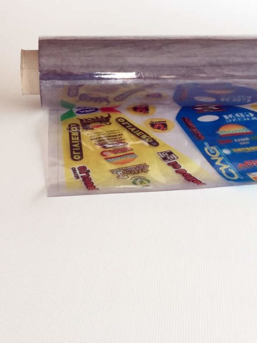 Soft flex transparent pvc for digital printing